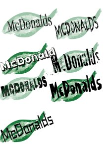 Leaf ideas for McDonalds